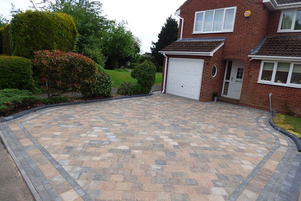 New block paving driveway in redditch by aspire drives for New driveway ideas